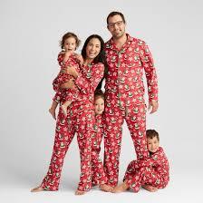 matching family pajamas target