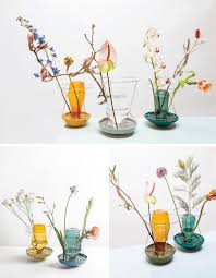 Designer Vases These Colorful Glass Vases Put The Flower Stems On Display