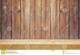 Wood Plank Shelves by Empty Shelf On Wooden Plank Wall Stock Photography Image 34247782