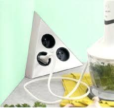 prise d angle cuisine bloc prise d angle cuisine bloc 3 prises triangle bloc prise dangle