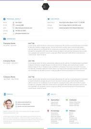 Resume Template Creative Free