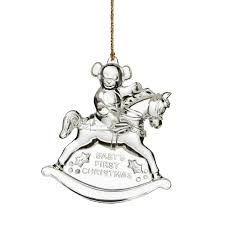 2015 glass annual baby s ornament discontinued
