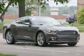 2014 ford mustang pony package spied 2016 mustang ecoboost pony package mustang