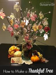 how to make a thankful tree the happy home management