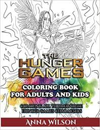 amazon hunger games coloring book adults kids