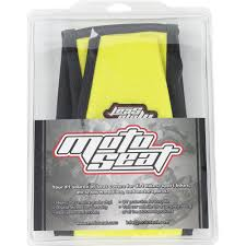 motoseat suzuki drz400 ribbed yellow black seat cover at mxstore