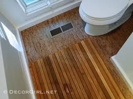 cork flooring for bathroom designer u0027s bathroom makeover remodel from ugly to spa