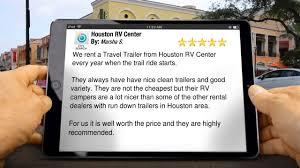 Camper Trailer Rental Houston Texas Houston Rv Center Spring Tx Youtube