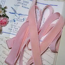 pink velvet ribbon antique velvet ribbon bolts spools millinery trim vtg hat
