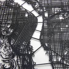 Maps Portland by Portland Street Map Size 11