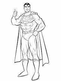 free superman coloring pages print 45580