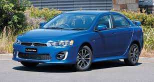 mitsubishi lancer facelift brings extra equipment to ageing small car