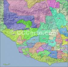 ventura county map ventura ca zip codes ventura county zip code boundary map