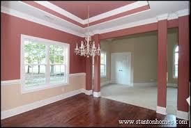 new homes interior interior column styles inside new custom homes