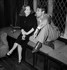 bette davis spouse davis and merrill on set of all about eve individuals who