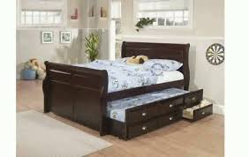 Queen Bed Frame With Twin Trundle by Queen Bed Frame With Twin Trundle Spillo Caves