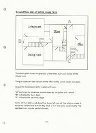 Floor Plan Of White House Police Note Outburst Of Mrs Kempen That Jeremy Bamber Didn U0027t Have
