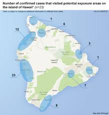 Map Of Hawaii Island New Map Shows Hawaii Island Wide Dengue Fever Cases