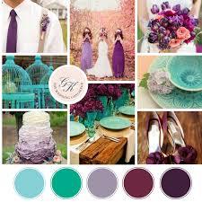 turquoise wedding purple and turquoise wedding