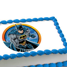Batman Decoration Batman Hero Edible Image Cake Decoration