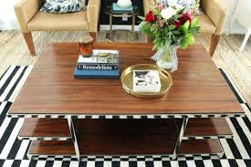 how to style a mid century coffee table coffee table styles 2016