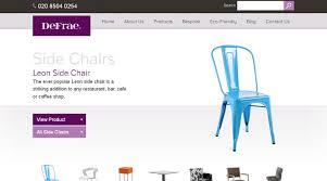 Chair Website Design Ideas Popular Furniture Websites With Awesome Furniture Website Designs