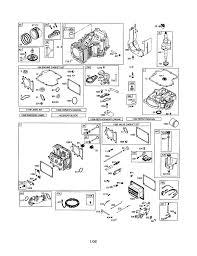 briggs u0026 stratton engine parts model 31p7770602e2 sears