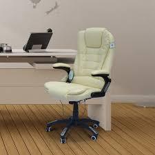 homcom massage chair office computer executive ergonomic heated