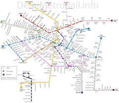 Metro North Map Pdf by Delhi Metro Map Master Plan 2021