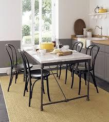 small kitchen table sets black metal double door refrigerator