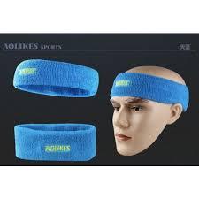 sport headband sport headband aolike blue