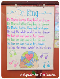 crafts u0026 ideas for mlk day a cupcake for the teacher