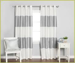 Grey And White Curtains Grey And White Blackout Curtains Home Design Ideas
