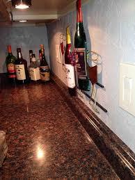 update an old kitchen backsplash with wallpaper hometalk