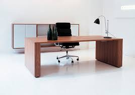 Furniture Modern Design by Wooden Office Tables