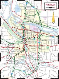Portland Streetcar Map by Map Portland Oregon My Blog