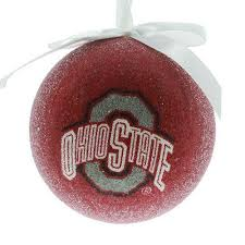 ohio state buckeyes ncaa ornament ohio alabama and