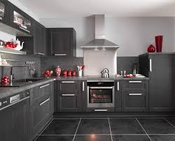 cuisine fjord lapeyre cuisine fjord noir avec ses portes en chêne le modèle fjord