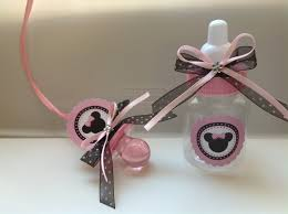minnie mouse baby shower favors by marshmallowfavors on etsy