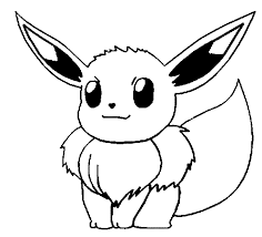 pokemon outlines pokmonzeichnung plinfa in coloring pages draw