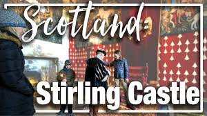 scotland explore the castle on the hill stirling castle with
