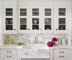 chicago carrera marble backsplash kitchen traditional with maple