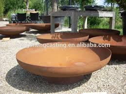 Steel Fire Pit - outdoor steel fire pit steel fire bowl garden fire bowl buy