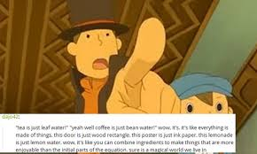Professor Layton Meme - tonight the foxes hunt the hounds