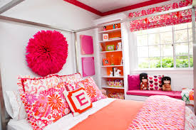 Double Deck Bed Designs Pink Bedroom Cute Orange And White Themes With Double Deck Bunk Bed