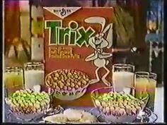 Trix Cereal Meme - commercial trix cereal trix are for kids general mills tv