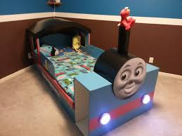 made my son a thomas the train bed for his 2nd birthday album