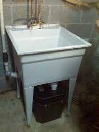 utility sink drain pump gallery of plumbing projects
