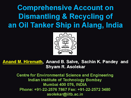 hiramath comprehensive account on dismantling u0026 recycling of an