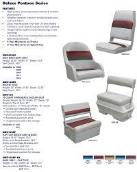 deluxe pontoon furniture